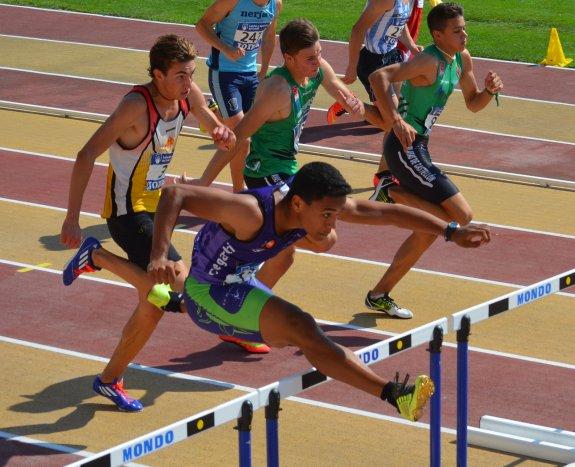 El deportista valenciano Luis Salort