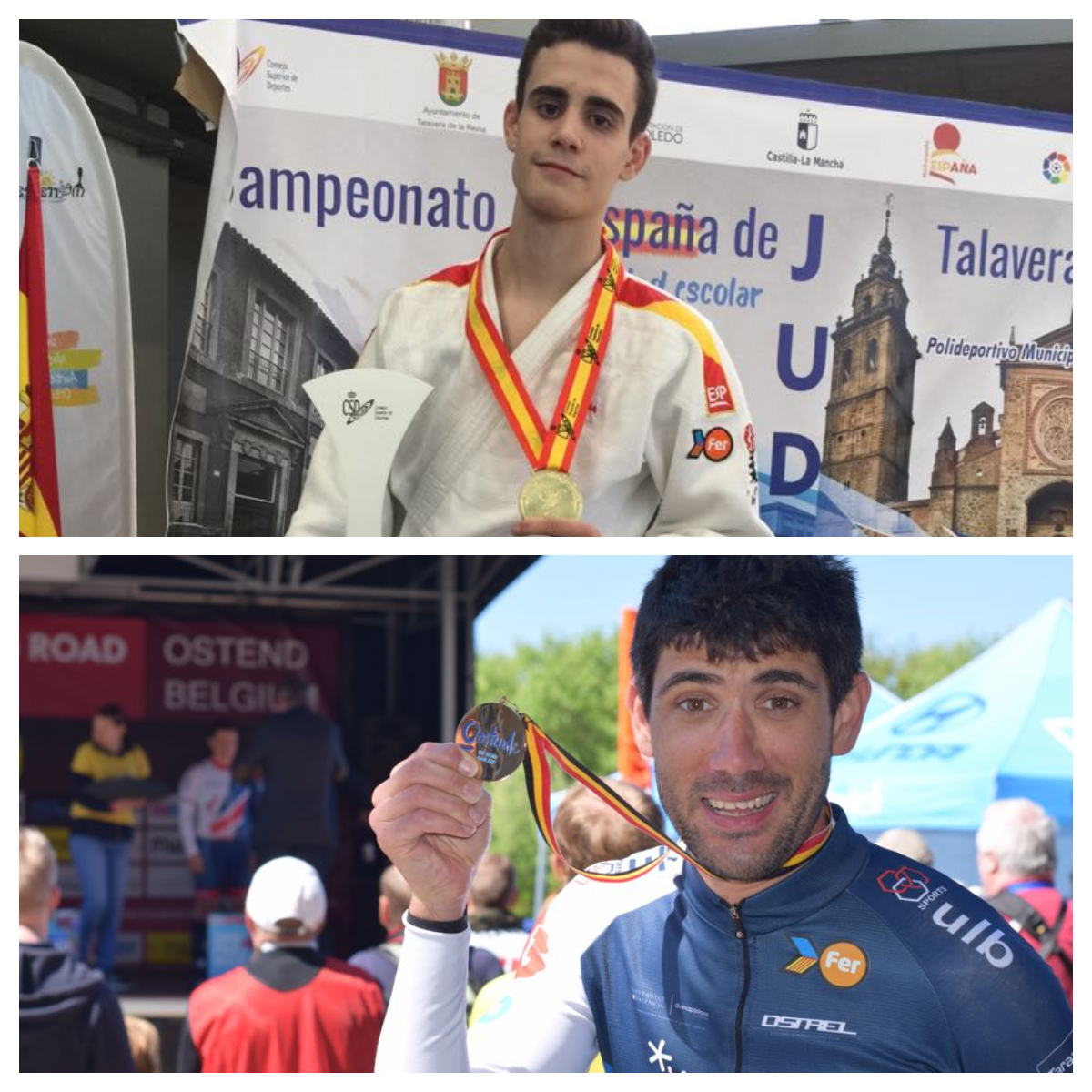 Pedro Gómez y Maurice Eckhard