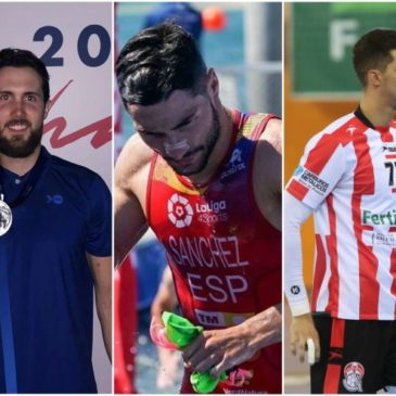 Raul Martinez, Roberto Sanchez y Josep Folques