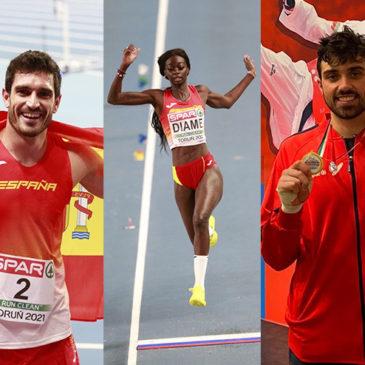 Jorge, Fatima, Daniel - Deportistas FER