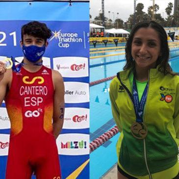 David Cantero y Alba Herrero
